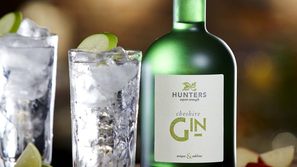 Hunters Gin Bottle